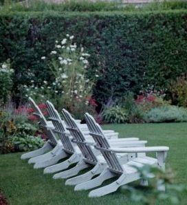 Nantucket Adirondack Chairs~