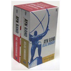 """Atlas Shrugged"" and ""The Fountainhead"" by Ayn Rand"