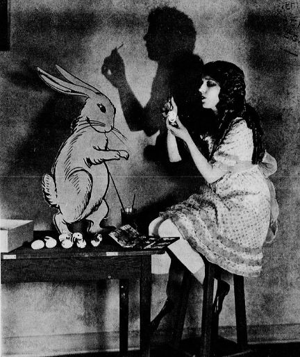 Mary Pickford and the Easter Bunny, 1923
