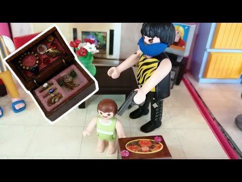 الحرامي سرق صندوق مجوهرات ماما قصص اطفال افلام بلاي Playmobil Youtube