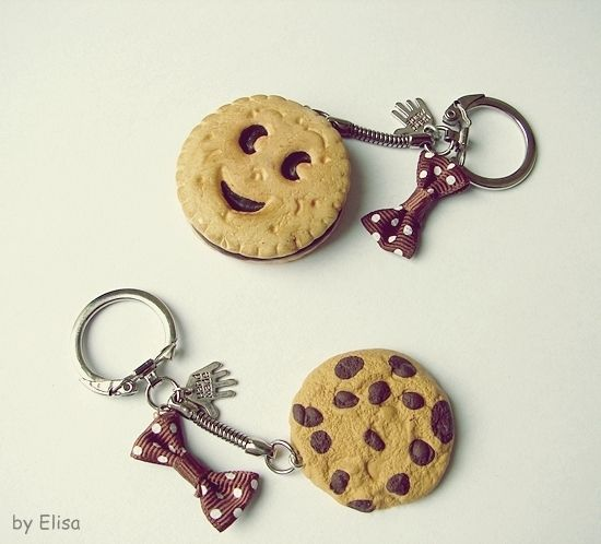 fimo cookies.