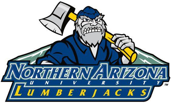 Northern Arizona Lumberjacks College Logo Northern Arizona
