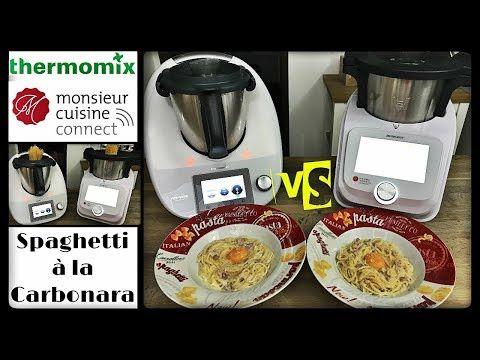 Duel De Recettes Spaghetti A La Carbonara Monsieur Cuisine