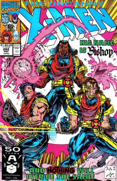 Cover for The Uncanny X-Men (Marvel, 1981 series) #282 [Direct Edition]