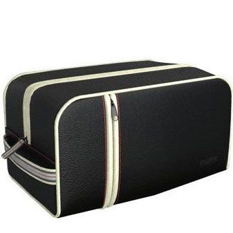 Carry All · MISTER UCHI · black toiletry bag - - - With its stylish and minimalist black leather-look the Mister Uchi carry all from the Uchi range of essential toiletry bags for men is perfect for the executive on the go. The elegant toiletry bag features one large, zip pocket with one small base pocket.
