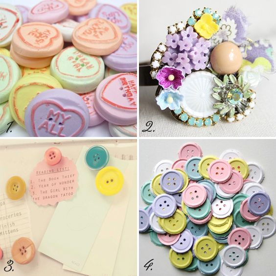 Moodboard Monday: Beautiful buttons | Mollie Makes