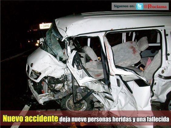 El accidente de tránsito se presentó sobre el sector de la variante de Santander de Quilichao hacia las 7 de la noche de este domingo 17 de agosto. Imágenes e información completa aquí http://www.proclamadelcauca.com/2014/08/nuevo-accidente-deja-nueve-personas-heridas-y-una-fallecida.html