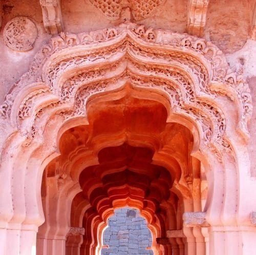 Arch-Lotus Mahal