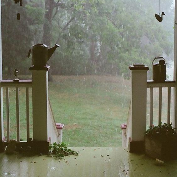 La lluvia es solo un detalle
