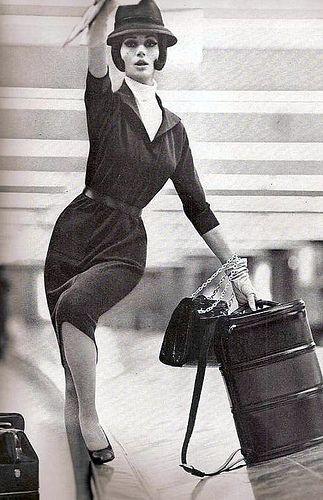 Lillian Bassman shoot for Haper's Bazaar 1961