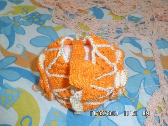 Mãos de Axé da Foroji: Porta Novelos de Crochet