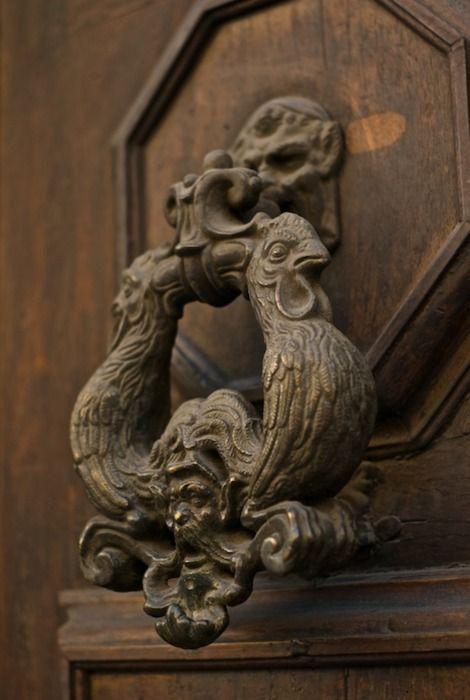 nice door knocker - I need this ha ha