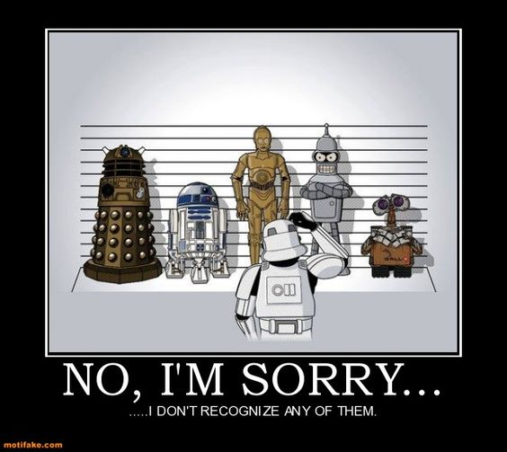 these are not the droids.....