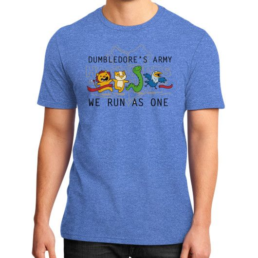 We Run as One District T-Shirt (on man)