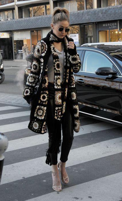 Piazza nonna cappotto sciarpa felpa giacca friform a di AlisaSonya