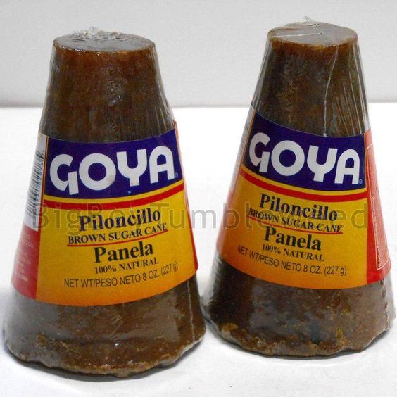 GOYA Piloncillo cone #Panela brown sugar cane 8 oz cooking baking #caramel  Brand: GOYA Piloncillo Brown Sugar Cane Features: Brown Sugar Cane Approx Size: net wt 8 oz