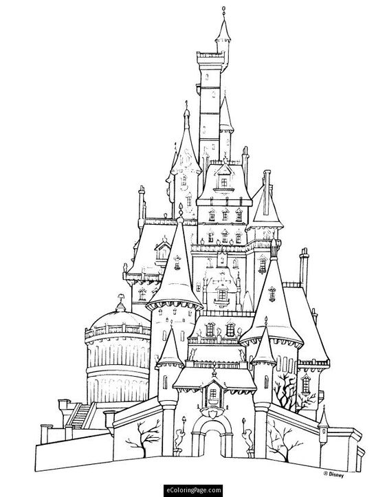 Beauty And The Beast Coloring Pages Gaston PICT 637927
