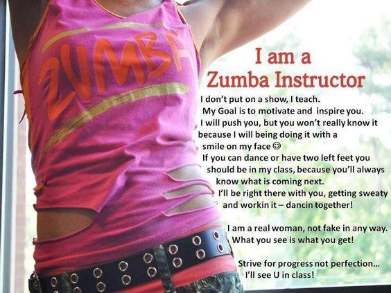 My Zumba Instructor : )