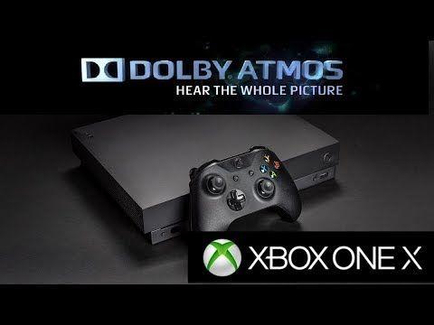 Xbox One X S Dolby Atmos Xbox One Spatial Sound Microsoft S Secret Xboxone Games Gaming Xbox One Xbox One S Dolby Atmos