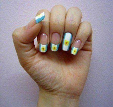 fingernägel argentinien farben