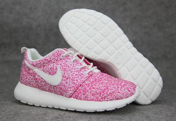 Roshe Run Blancas Y Rosas