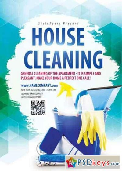 Free Printable House Cleaning Cleaning Flyers Psd Flyer Templates Cleaning Service Flyer