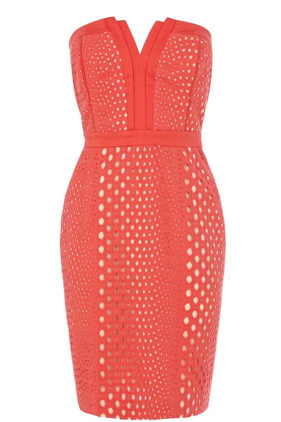 Cutout bandeau dress