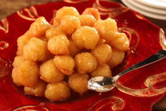 Italian Honey Balls   MrFood.com