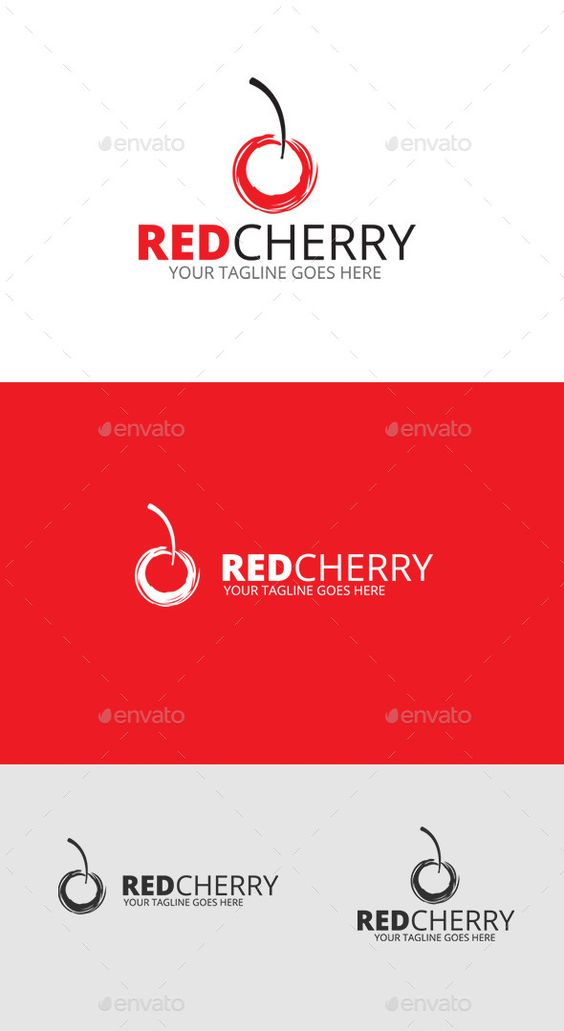 Cherry Fruit Logo - Download…