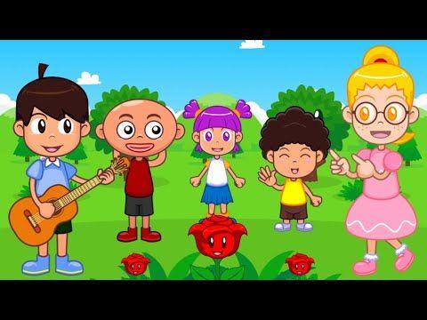 Lagu Anak Anak Lucu Seperti Mawar Yang Indah Terbaru Pakai Animasi Anak Youtube Anak Lucu Anak Animasi