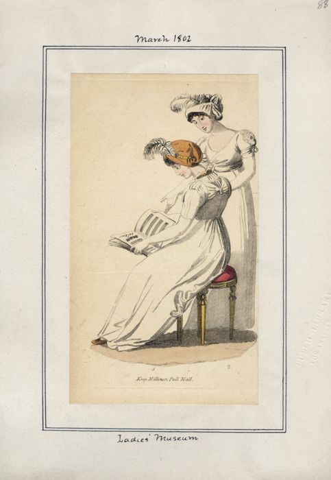 Lady's Museum, March 1802.