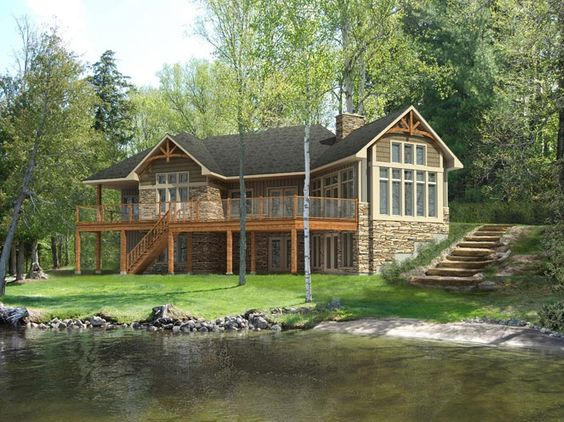 Cedar glen i model by beaver homes and cottages includes for House plans with virtual tours