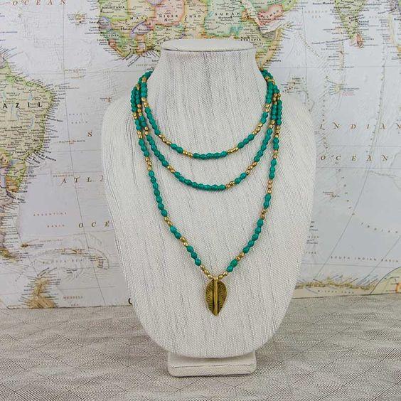 tropic paper bead