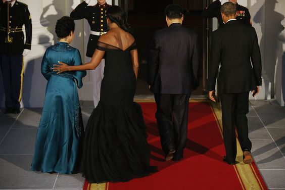 Michelle Obama Photos - President Obama Hosts Chinese President Xi Jinping For State Visit - Zimbio