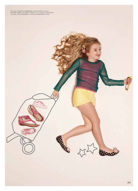 Editorial Moda Infantil Revista Lançamentos