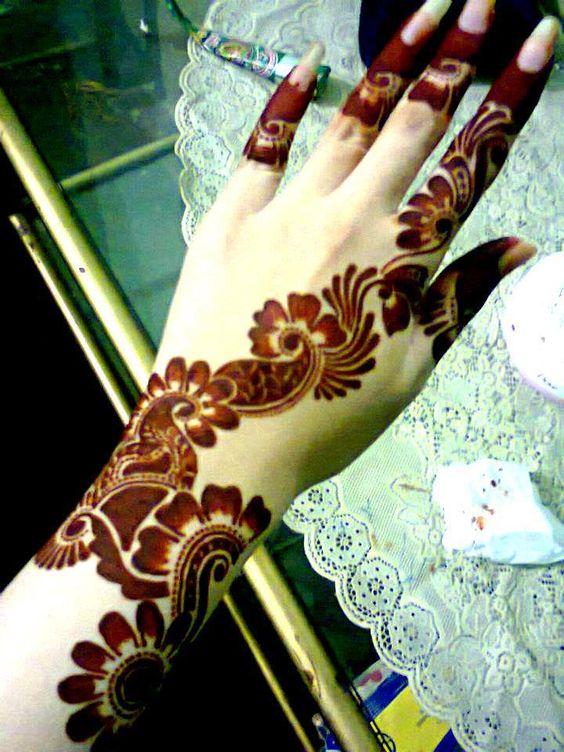 Gambar Henna yang Mudah