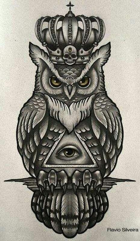 Top Stylish 350 Owl Tattoo Design Ideas Traditional Owl Tattoos Tribal Owl Tattoos Owl Tattoo Meaning