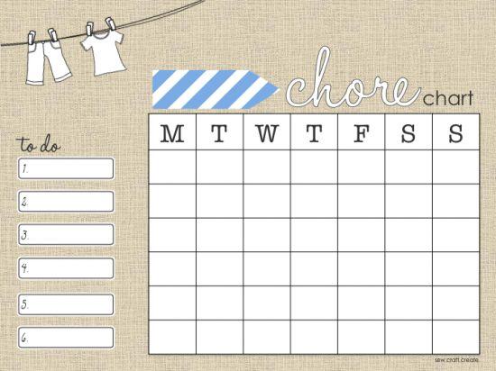 'chores' stories