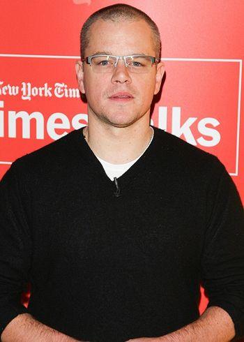 Matt Damon can't write alone!