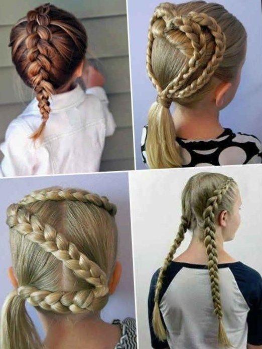 Imagenes De Peinados Faciles De Hacer En Casa Para Nina Hair Styles Beauty Dreadlocks