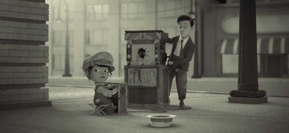 "La magia del cine recreada en este maravilloso corto: ""Silent"""