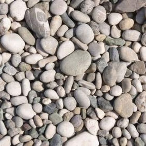 The best type of rock gravel for landscaping rocks for Small river pebbles