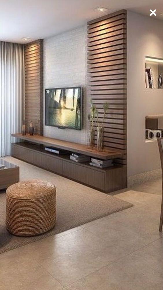 Bricolage Creatif Meuble Tv Idees Pour Votre Salle De In 2020 Living Room Tv Unit Designs Living Room Decor Modern Living Room Design Modern #tv #unit #for #living #room