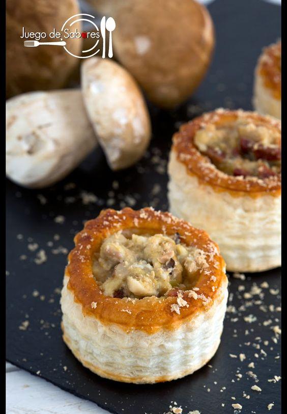 Este es un plato que junta el cielo y la tierra. El cielo, porque el volován (del francés vol-au-vent) es una cosa ligera, casi etérea. ...