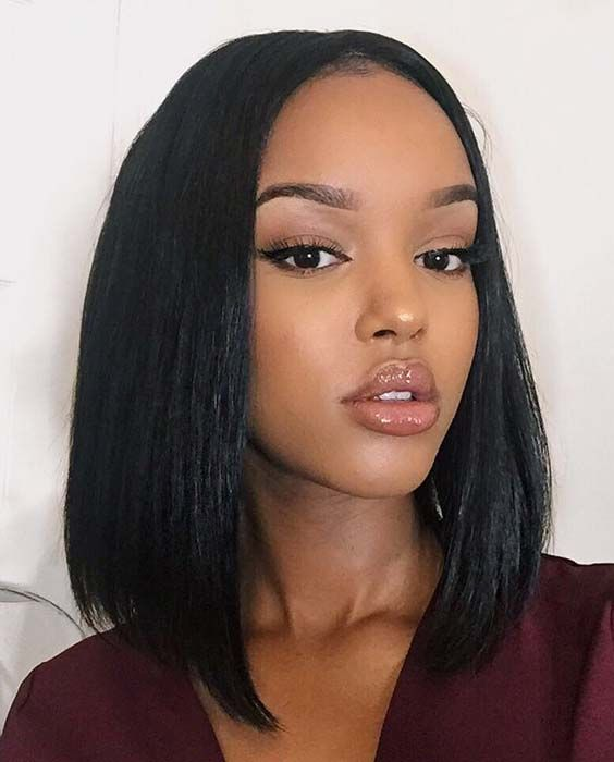 25 Bob Hairstyles For Black Women That Are Trendy Right Now Stayglam Black Women Hairstyles Bob Hairstyles Natural Hair Styles