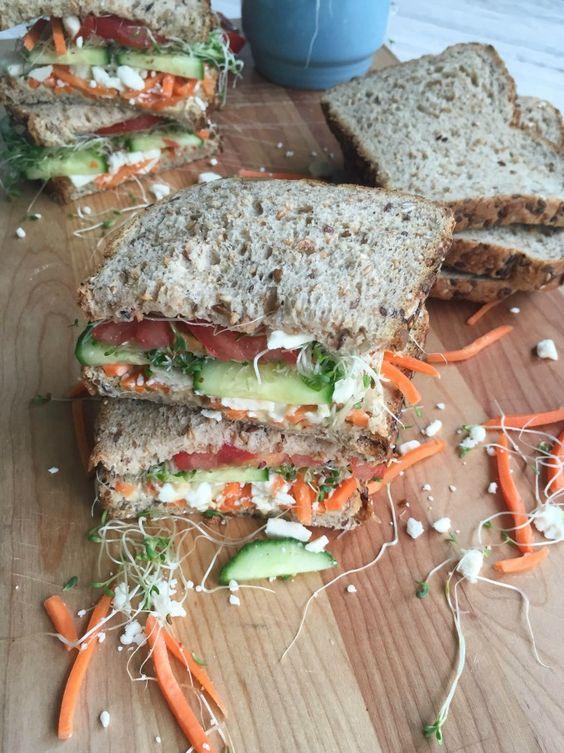 Fresh vegetables, Veggies and Sandwiches on Pinterest