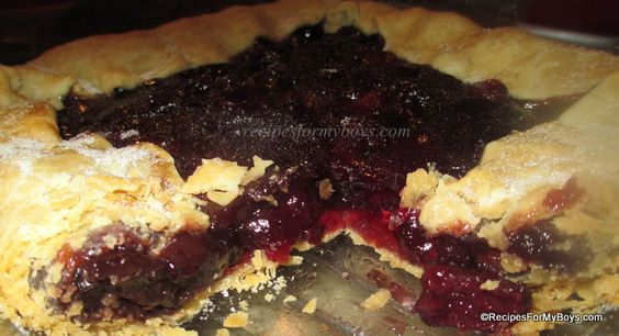 Recipes For My Boys: Microwave Cherry Pie Filling and Cherry Pie
