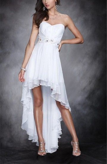 Christina Lindley Asymmetrical Chiffon Sleeveless Homecoming Dress Model : DWHNS15067  Regular Price: $248.00 Special Price: $109.00