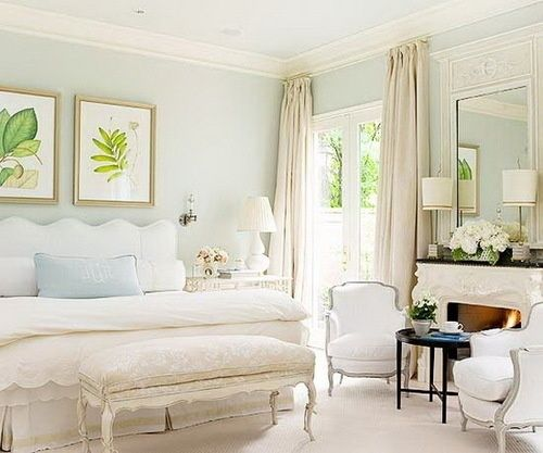 Love How Soft This Color Is Maybe For The Entry Or Living Room Robins Egg Blue Walls By Georgia