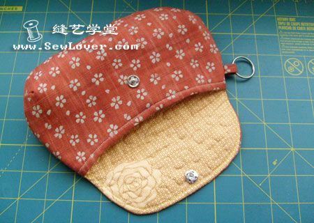 flip bag pattern and tutorial